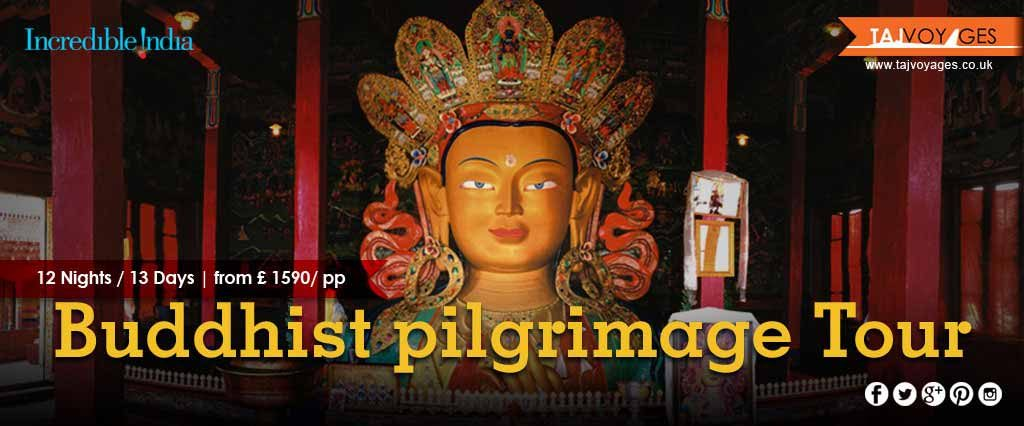 Buddhist Pilgrimage Tour, North East India